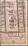 Sellos del Mundo : Europa : Bélgica : 80 cents. 1923