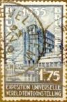 Sellos de Europa - Bélgica -  Intercambio 0,30 usd 1,75 francos 1934