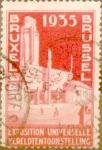 Sellos de Europa - Bélgica -  Intercambio 0,40 usd 1 franco 1934