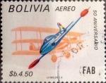 Stamps : America : Bolivia :  Intercambio dm1g2 0,65 usd 4,50 bolivares 1984