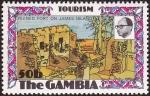 sellos de Africa - Gambia -  GAMBIA - Isla James y sitios anejos