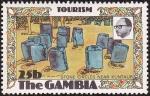 Sellos de Africa - Gambia -  GAMBIA  – Círculos megalíticos de Senegambia