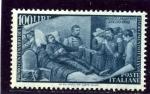 Sellos de Europa - Italia -  Centenario del Resurgimiento. Batalla de Mameli