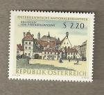 Stamps Austria -  Biblioteca Nacional de Austria
