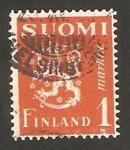 Sellos de Europa - Finlandia -  148 - León rampante
