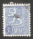 Stamps Finland -  415 - León rampante