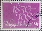 Sellos del Mundo : Europa : Bélgica : Intercambio 0,25 usd 9 francos 1980