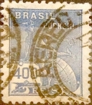 Stamps : America : Brazil :  Intercambio 0,25 usd 400 reis 1940