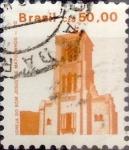 Sellos de America - Brasil -  Intercambio 2,50 usd 50 cruzeiros 1987