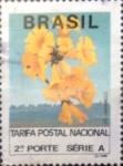 Stamps : America : Brazil :  Intercambio 0,20 usd 265 cruzeiros 1992