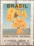Stamps Brazil -  Intercambio 0,20 usd 265 cruzeiros 1992