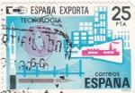 Stamps Spain -  España Exporta- Tecnologia  (17)