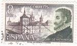 Sellos de Europa - España -  JUAN DE HERRERA- personajes españoles (17)