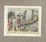 Stamps Europe - Austria -  Biblioteca Nacional de Austria