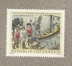 Sellos del Mundo : Europa : Austria : Biblioteca Nacional de Austria