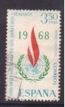 Stamps Spain -  Año Intern. de los Derechos Humanos