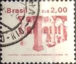 Sellos de America - Brasil -  Intercambio 0,20 usd 2 cruzeiros 1986