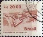 Sellos del Mundo : America : Brasil : Intercambio 1,00 usd 20 cruzeiros 1986