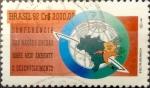 Stamps : America : Brazil :  Intercambio 1,50 usd 3000 cruzeiros 1992
