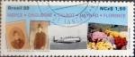 Sellos del Mundo : America : Brasil : Intercambio 1,10 usd 1,50 cruzeiros 1989