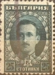 Stamps : Europe : Bulgaria :  Intercambio 0,20 usd 25 stotinki 1922