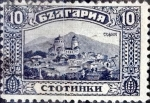 Stamps : Europe : Bulgaria :  Intercambio 0,20 usd 10 stotimki 1921