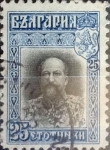 Stamps : Europe : Bulgaria :  Intercambio 0,20 usd 25 stotimki 1911