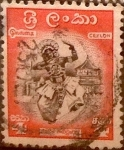 Stamps : Asia : Sri_Lanka :  Intercambio 0,20 usd 4 cents. 1958