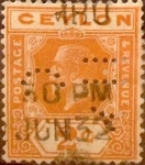 Stamps : Asia : Sri_Lanka :  2 cents. 1921