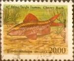 Stamps : Asia : Sri_Lanka :  Intercambio 2,50 usd 20 rupias 1990