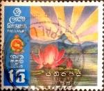 Sellos del Mundo : Asia : Sri_Lanka : Intercambio 0,60 usd 15 cents. 1972