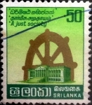 Stamps : Asia : Sri_Lanka :  Intercambio 0,20 usd 50 cents. 1981
