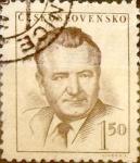 Sellos de Europa - Checoslovaquia -  Intercambio 0,20 usd 1,50 koruna 1948