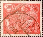 Stamps : Europe : Czechoslovakia :  300 haleru 1920