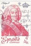 Stamps Spain -  Felipe V  (17)