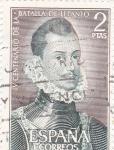 Stamps Spain -  IV Centenario de la Batalla de Lepanto (17)