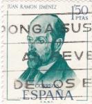 Sellos de Europa - España -  Juan Ramón Jimenez (17)