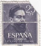 Sellos del Mundo : Europa : España : 1 Centenario de Albéniz (17)
