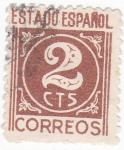 Stamps : Europe : Spain :  CIFRAS (17)
