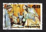 Stamps Spain -  Navidad 88