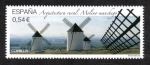 Stamps Spain -  Arquitectura rural, Molino Manchego