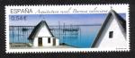 Stamps Spain -  Arquitectura rural, Barraca Valenciana