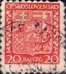 Sellos del Mundo : Europa : Checoslovaquia : Intercambio 0,20 usd 20 haleru 1929