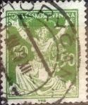 Sellos del Mundo : Europa : Checoslovaquia : Intercambio 0,20 usd 50 haleru 1920