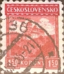 Stamps Czechoslovakia -  Intercambio 0,20 usd 1,50 koruna 1926