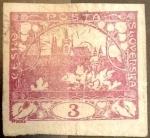 Sellos de Europa - Checoslovaquia -  Intercambio 0,20 usd 3 haleru 1918