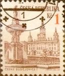 Sellos del Mundo : Europa : República_Checa : Intercambio 0,20 usd 1 koruna 1993