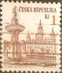 Sellos de Europa - República Checa -  Intercambio 0,20 usd 1 koruna 1993