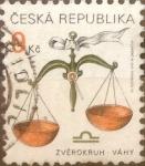 Stamps : Europe : Czech_Republic :  Intercambio 0,25 usd 9 koruna 1999