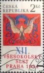 Stamps : Europe : Czech_Republic :  Intercambio crxf 0,20 usd 2 koruna 1994